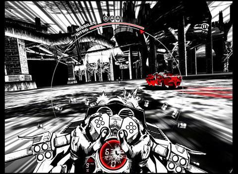 SXPD e un joc de iPad care combina ideea de comic book cu jocuri de curse (Video)