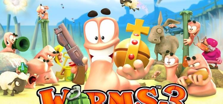 Worms 3 disponibil acum pe Android, costa 5 dolari