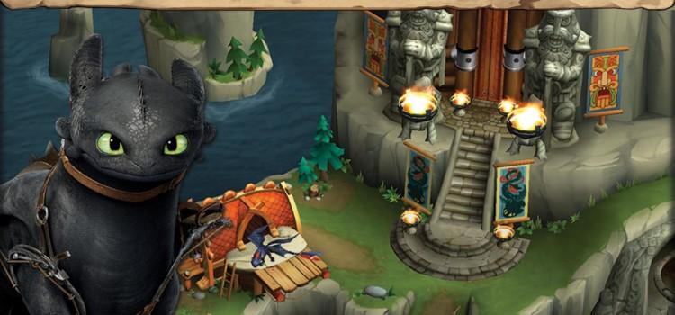 Cum sa iti dresezi dragonul 2 primeste un nou joc de mobil: Dragons Rise of Berk (Video)