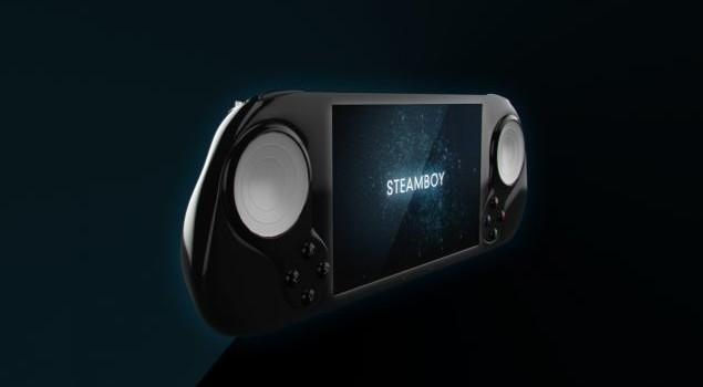 Steamboy, cea mai noua consola Steam aduce cu un PSP si controller de Wii U (Video)