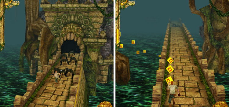 Temple Run atinge 1 miliard de downloaduri; Am pierdut speranta in umanitate…