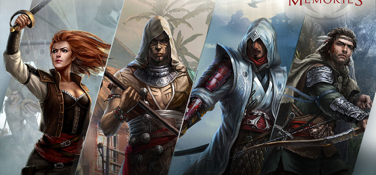 Inca un joc Assassin's Creed pentru mobil: Assassin's Creed Memories dezvoltat de Ubisoft, GREE si PlayNext