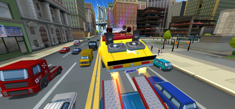 Inca un Crazy Taxi soseste in App Store pe 31 iulie: Crazy Taxi City Rush e un endless runner (Video)