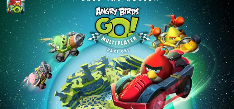 Angry Birds Go! primeste un mod multiplayer prin cel mai nou update