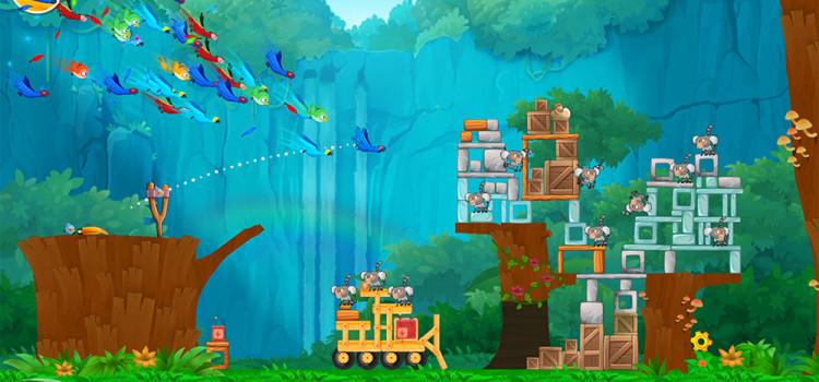 Angry Birds Rio primeste un update cu 26 de nivele noi, care se petrec in copaci