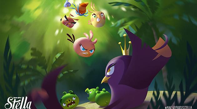 Angry Birds Stella se lanseaza pe 4 septembrie; Iata 2 noi trailere!