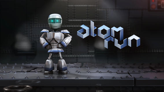Jocul gratuit al saptamanii (iOS): Atom Run, un platformer in stil Mega Man