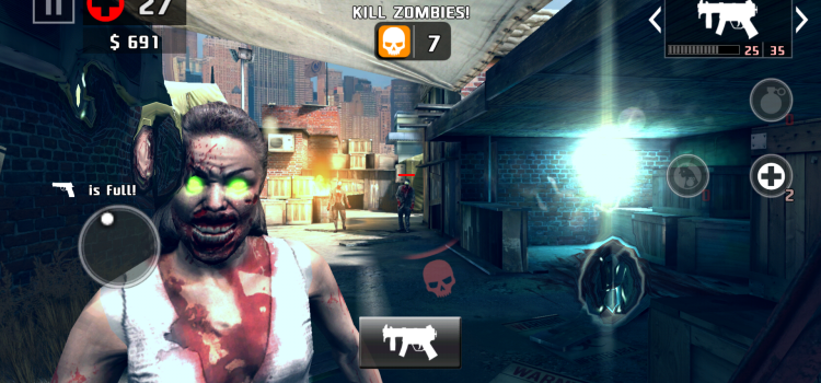 Dead Trigger 2 Review (Android): cel mai distractiv shooter horror de pe Android (Video)