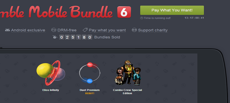 Iata ce jocuri sunt incluse in Humble Mobile Bundle 6 si care sunt ofertele