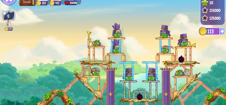 Angry Birds Stella disponibil acum si dezamageste din start