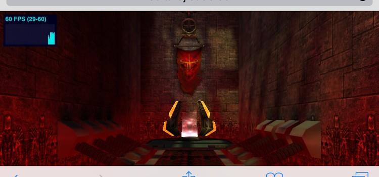 Doom 3 si Quake 3 arata genial pe iPhone/iPad cu iOS 8, dar doar via WebGL/Safari