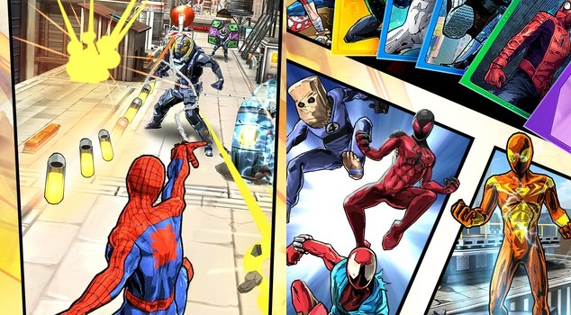 Spider-Man Unlimited disponibil acum oficial pe iOS si Windows Phone; Cum ramane cu Android Gameloft?!