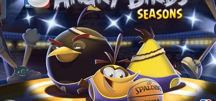 Angry Birds Seasons primeste nivele speciale legate de NBA (Video)