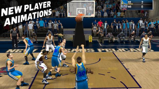 NBA 2K15 disponibil acum pe iOS la pretul de 7 euro; Soseste partial pe Android