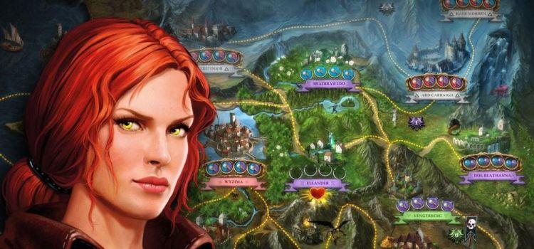The Witcher Adventure Game e acum disponibil pe Android si iOS, sub forma de board game