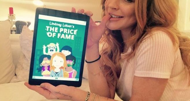 Lindsay Lohan isi lanseaza joc pe iOS si Android: The Price of Fame
