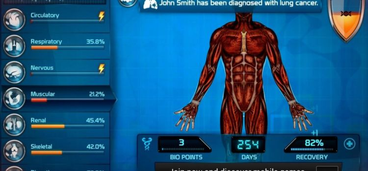 """Bio Inc Review (Android): Singurul context in care o sa zici vreodata """"cumpara niste cancer"""" (Video)"""
