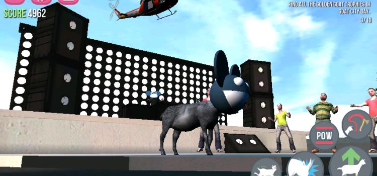 Goat Simulator primeste o actualizare care aduce un nou oras, porci blocati si un pret scazut al jocului