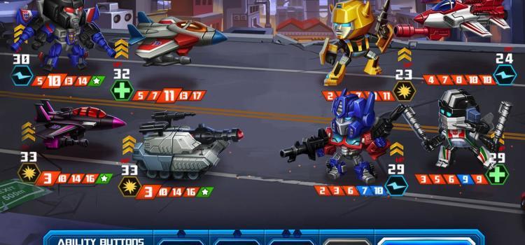 Transformers Battle Tactics disponibil acum in Play Store, e un joc ciudat de strategie turn based