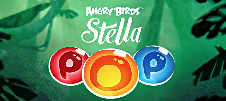 Angry Birds Stella Pop transforma experienta Angry Birds in Candy Crush (Video)