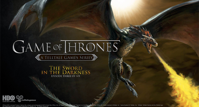 Telltale Games publica primele capturi de ecran din Game of Thrones Episodul 3: The Sword in the Darkness