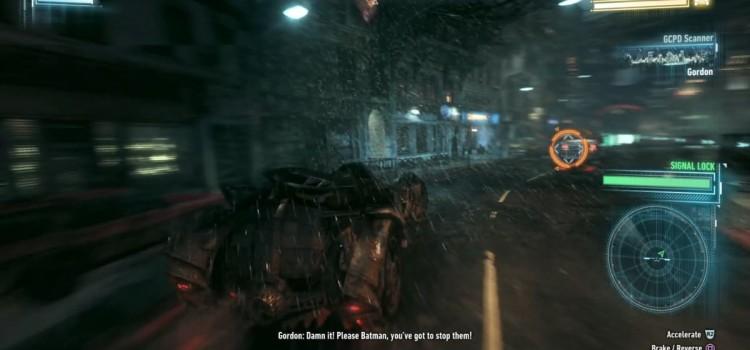 Batman Arkham Knight Preview (PS4): criza mare de personaje carismatice, un Batmobil pe care adori sa il urasti (Video)