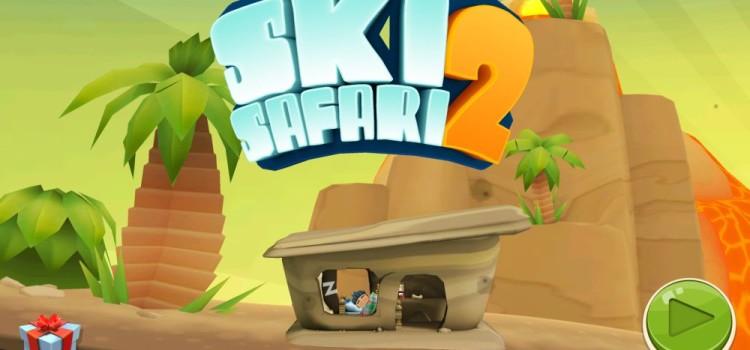 Ski Safari 2 Review (Android): jocul perfect pentru inceputul de iarna, poate prea usor pe derdelus (Video)