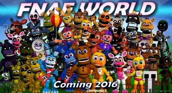 RPG-ul Five Nights at Freddy's cunoscut ca FNAF World primeste primul trailer (Video)