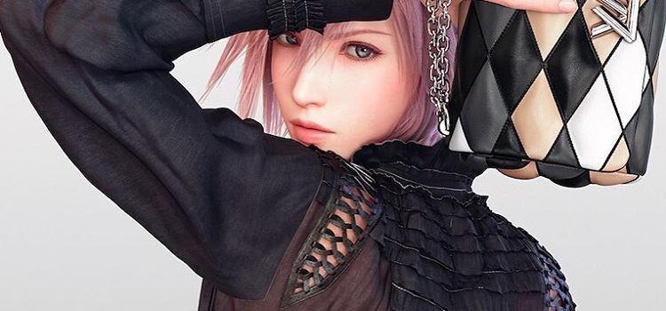 Personajul Lightning din Final Fantasy XIII va deveni imaginea colectiei Louis Vuitton anul viitor