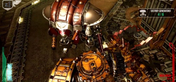 Warhammer 40.000 Freeblade Review (iOS): aho, aho mech si 3D Touch, stati putin si nu implodati (Video)
