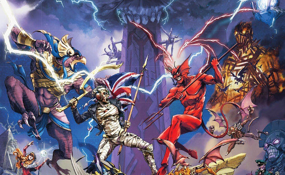 Un joc RPG Iron Maiden va sosi in acest an pe iOS si Android, cu Eddie in rol principal
