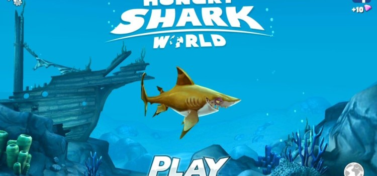 Hungry Shark World Preview (Android): un rechin cu foame mare de tot, de pestisori si omuleti (Video)