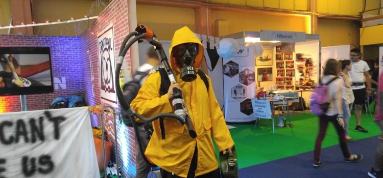 Cum a fost la East European Comic Con 2016; De la standul Armatei Romane la ESL Arena si Amber Jam