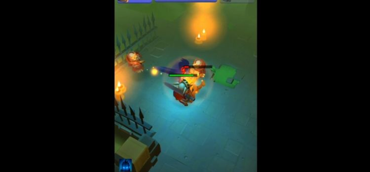 Nonstop Knight Preview (Android): Opusul lui Diablo, in varianta one tap de dungeon crawler (Video)