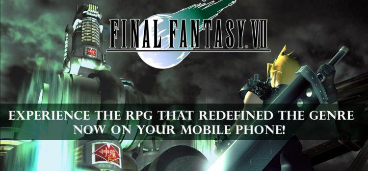 Final Fantasy VII e acum disponibil pe Android, costa 15 euro si TREBUIE sa il joci