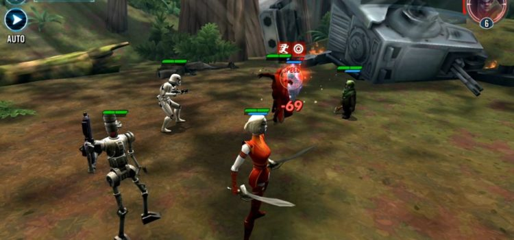 Star Wars: Galaxy of Heroes Review (Android): simulator de grinding, lasere si colectionare de carti; Doar pentru fanii SW! (Video)