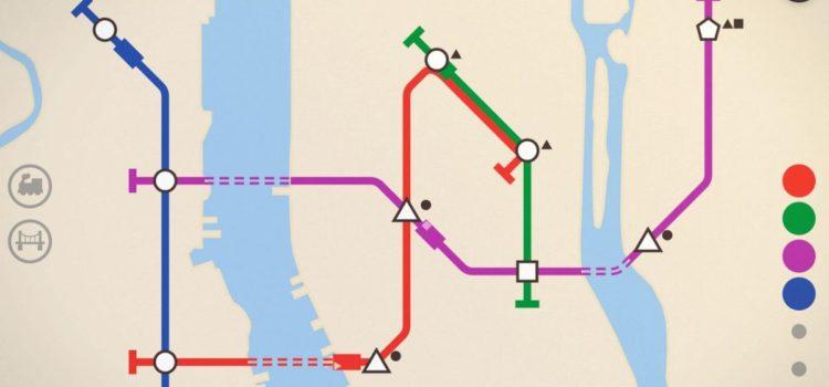 Mini Metro e jocul de care Metrorex are nevoie pentru a invata sa proiecteze trasee de metrou