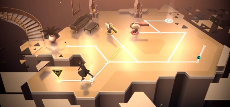 Deus Ex Go Preview (iOS): artwork ciber-cool, parca sub Lara Croft Go totusi (Video)