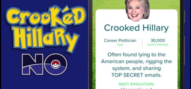 3 moduri in care Hillary si Donald Trump au folosit Pokemon GO in campanie (Video)