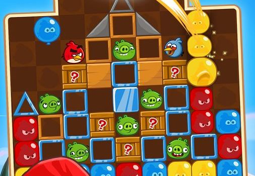 Rovio lanseaza o clona de Candy Crush, sub numele de Angry Birds Blast