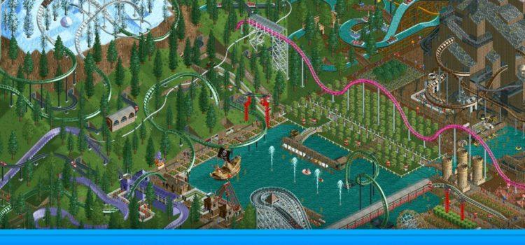 Mai tineti minte Rollercoaster Tycoon? Jocul a sosit pe Android si costa 6 euro