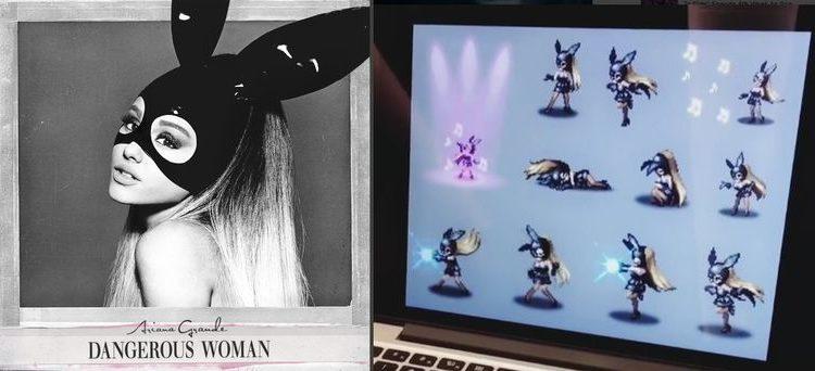 Ariana Grande va deveni personaj al jocului Final Fantasy Brave Exvius