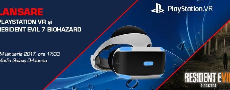 PlayStation VR se lanseaza in Romania pe 24 ianuarie, impreuna cu Resident Evil 7 Biohazard; Iata pretul!
