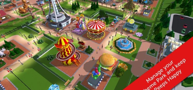 RollerCoaster Tycoon Touch soseste pe mobil, gratuit pe iOS si Android