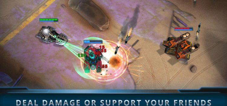 Panzer League este un joc MOBA cu tancuri, care va sosi pe Android în curând