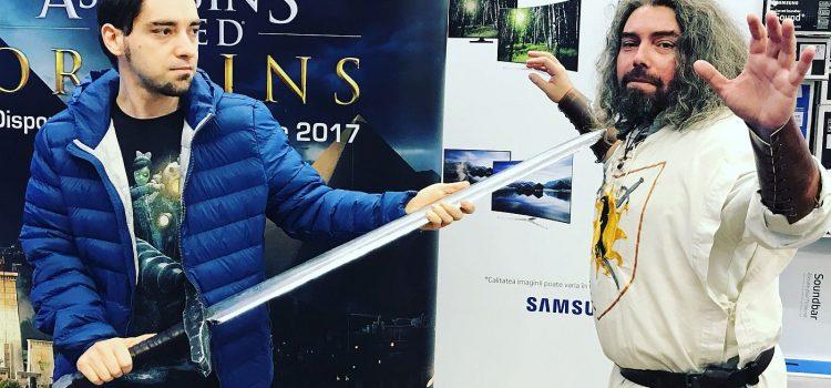 Cum a fost la lansarea lui Assassin's Creed Origins în România, de la Media Galaxy Park Lake (Galerie Foto)