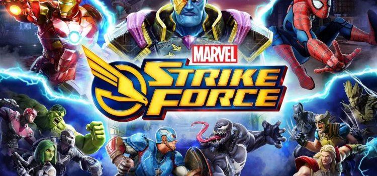 Marvel Strike Force este un nou joc cu super eroi pe mobil, gratuit in Play Store