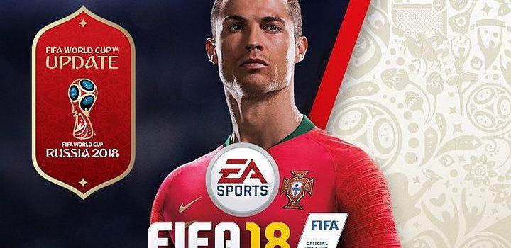 FIFA 18 primeşte un update gratuit World Cup pe 29 mai