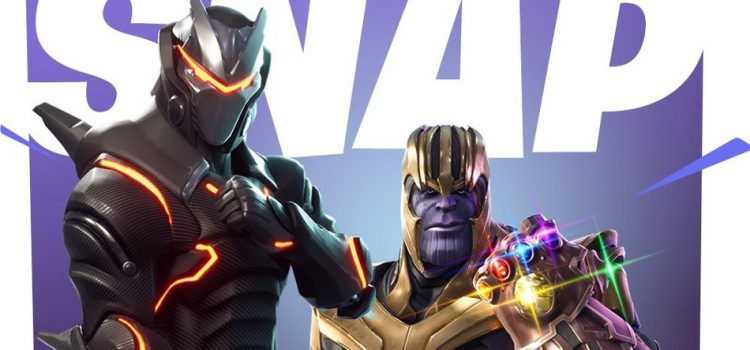 Thanos este disponibil de azi în jocul Fortnite, cu tot cu Infinity Gauntlet
