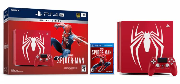 PlayStation 4 Pro primeşte o versiune specială Spider-Man + noi detalii despre noul joc cu Spidey